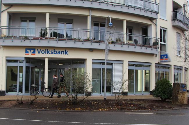 Volksbank Trier eG, Filiale Konz, Schillerstraße 16, 54329 Konz