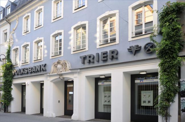 Volksbank Trier eG, Filiale Trier Viehmarkt, Viehmarktplatz 7, 54290 Trier